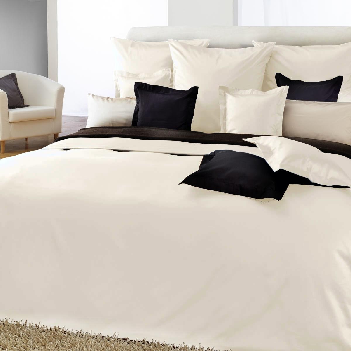 curt bauer uni mako satin bettw sche 155x200 cm in verschiedenen farben ebay. Black Bedroom Furniture Sets. Home Design Ideas