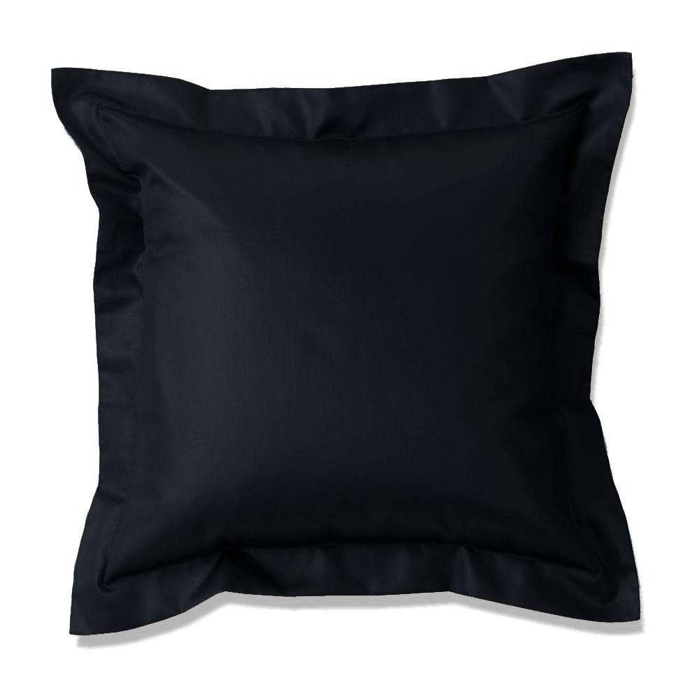 curt bauer uni mako satin kissenbezug 40x40 cm kissenh lle sofakissen dekokissen ebay. Black Bedroom Furniture Sets. Home Design Ideas