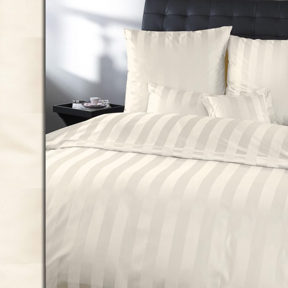 Curt 200x220 Bauer Mako ricami damasco biancheria da letto como 200x220 Curt cm 2044 strisce di blocco d43825