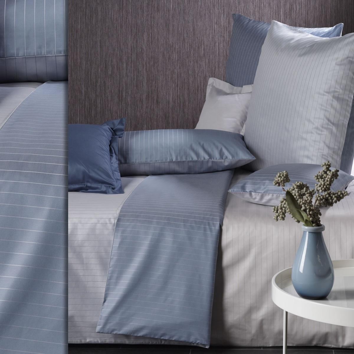 curt bauer mako brokat damast wende bettw sche kissenbezug ferrara 2452 streifen ebay. Black Bedroom Furniture Sets. Home Design Ideas