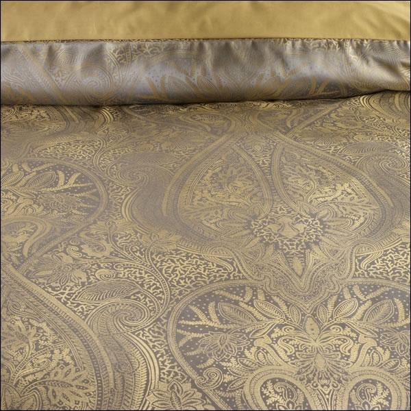 curt bauer mako brokat damast bettw sche kissenbezug delhi 2481 1831 messing ebay. Black Bedroom Furniture Sets. Home Design Ideas