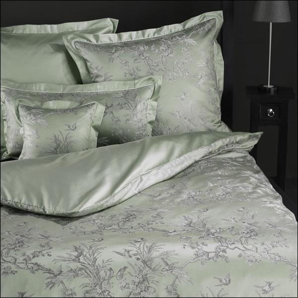 curt bauer mako brokat damast bettw sche programm natur design 2488 1033 oliv ebay. Black Bedroom Furniture Sets. Home Design Ideas