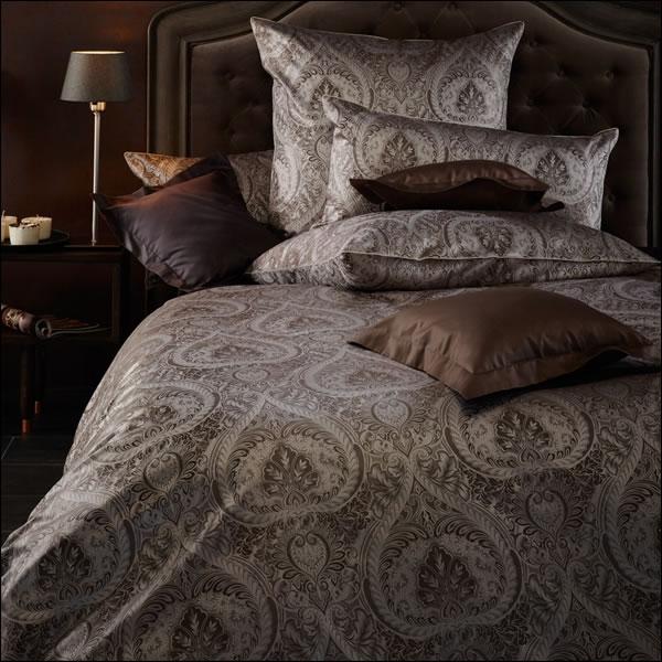 curt bauer mako brokat damast bettw sche anastasia design 2503 1060 quarz. Black Bedroom Furniture Sets. Home Design Ideas