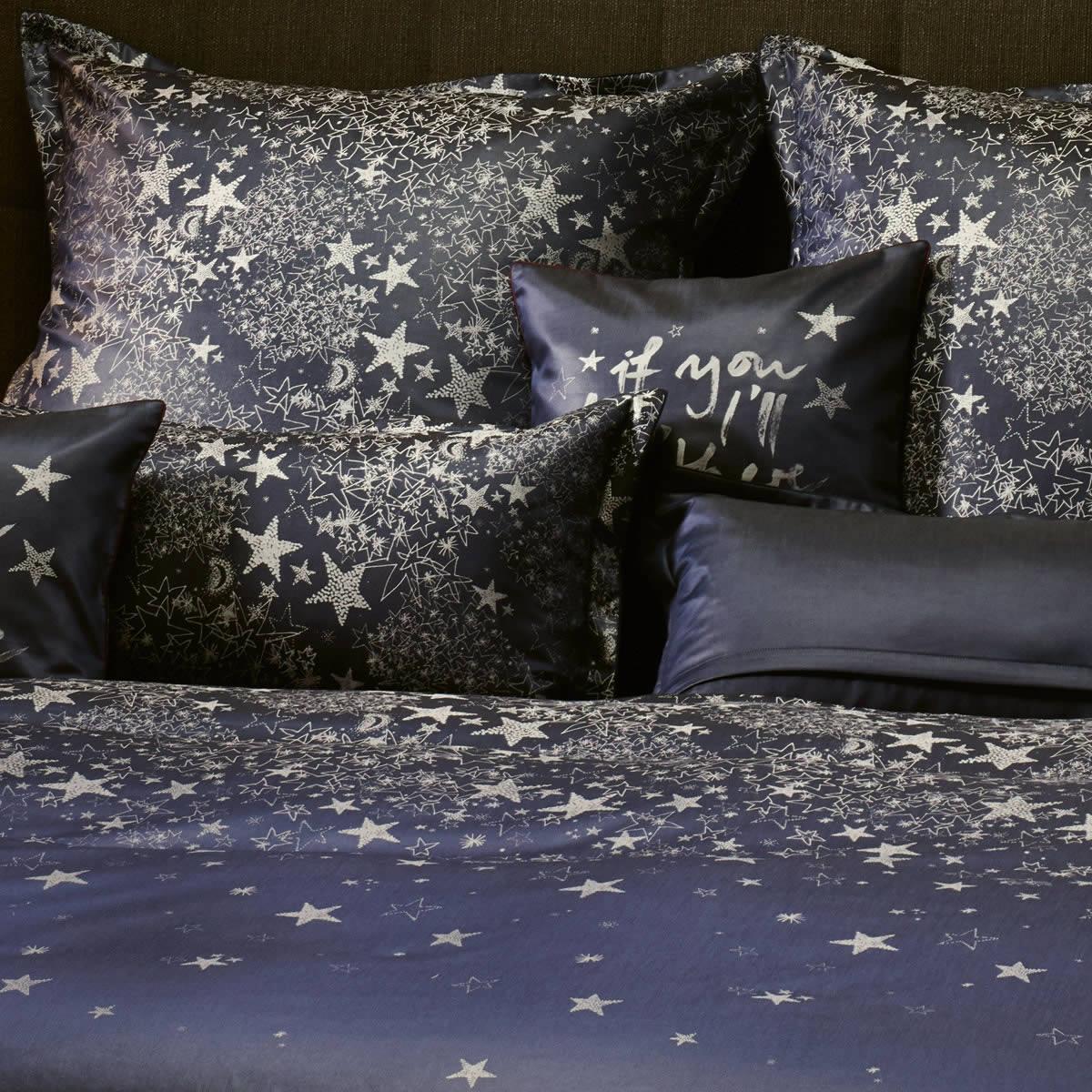 curt bauer mako brokat damast wende bettw sche stella 2543 1086 marine sterne ebay. Black Bedroom Furniture Sets. Home Design Ideas