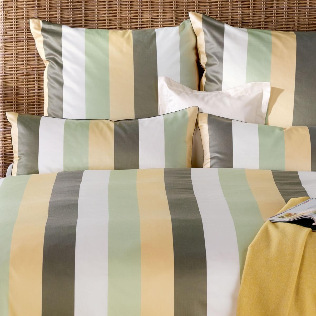curt bauer mako brokat damast bettw sche montpellier 2553 1088 jade gelb. Black Bedroom Furniture Sets. Home Design Ideas