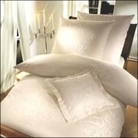 Curt Bauer Mako-Brokat-Damast Bettwäsche Florenz 2680-0639 Farbe beige