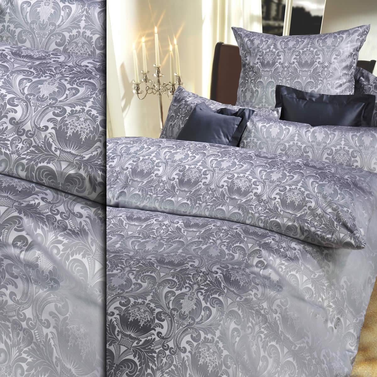 curt bauer mako brokat damast bettw sche 200x220 cm florenz 2680 1022. Black Bedroom Furniture Sets. Home Design Ideas