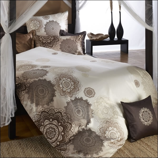 curt bauer interlock jersey bettw sche w stenblume in 135x200 80x80 cm. Black Bedroom Furniture Sets. Home Design Ideas