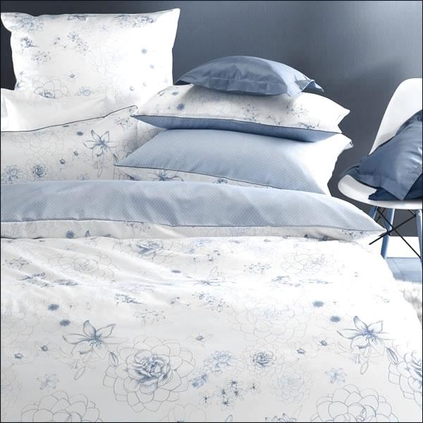curt bauer mako satin wende bettw sche design claudia 6202 1233 blau. Black Bedroom Furniture Sets. Home Design Ideas