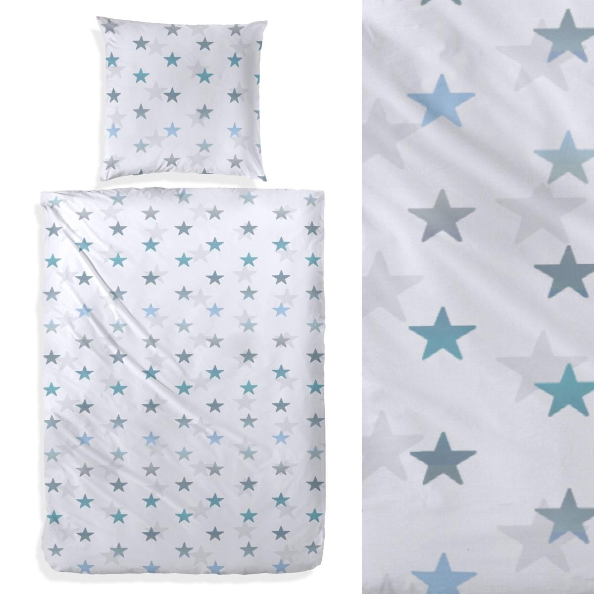 Fantastisch Bettwasche Sterne Blau Zeitgenössisch - Innenarchitektur ...