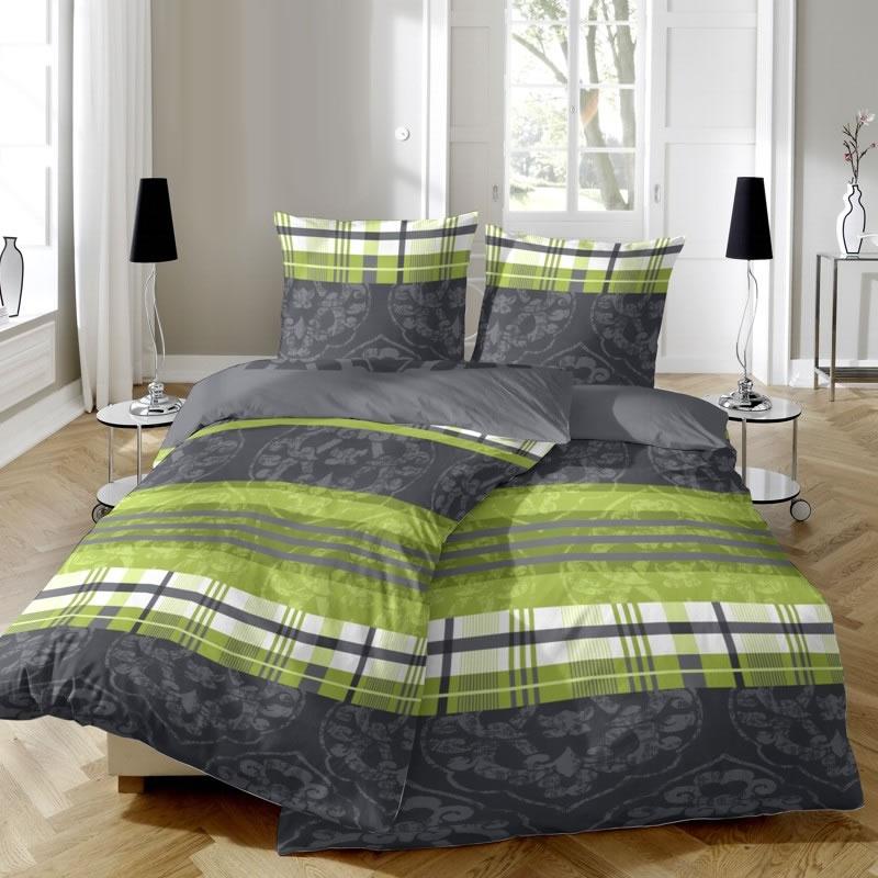 Hahn Edelflanell Bettwasche 200x200 Design 174011 085 Mehrfarbig
