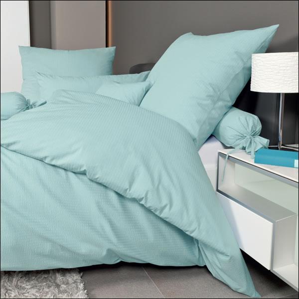 janine mako soft seersucker bettw sche 200x200 bis 240x220 cm piano. Black Bedroom Furniture Sets. Home Design Ideas