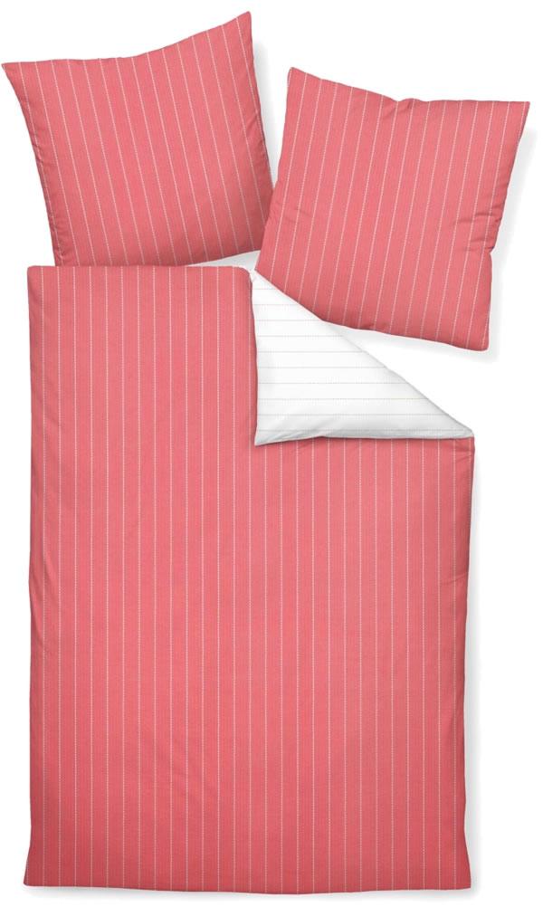 janine seersucker wende bettw sche tango 20020 01 sommerkoralle. Black Bedroom Furniture Sets. Home Design Ideas