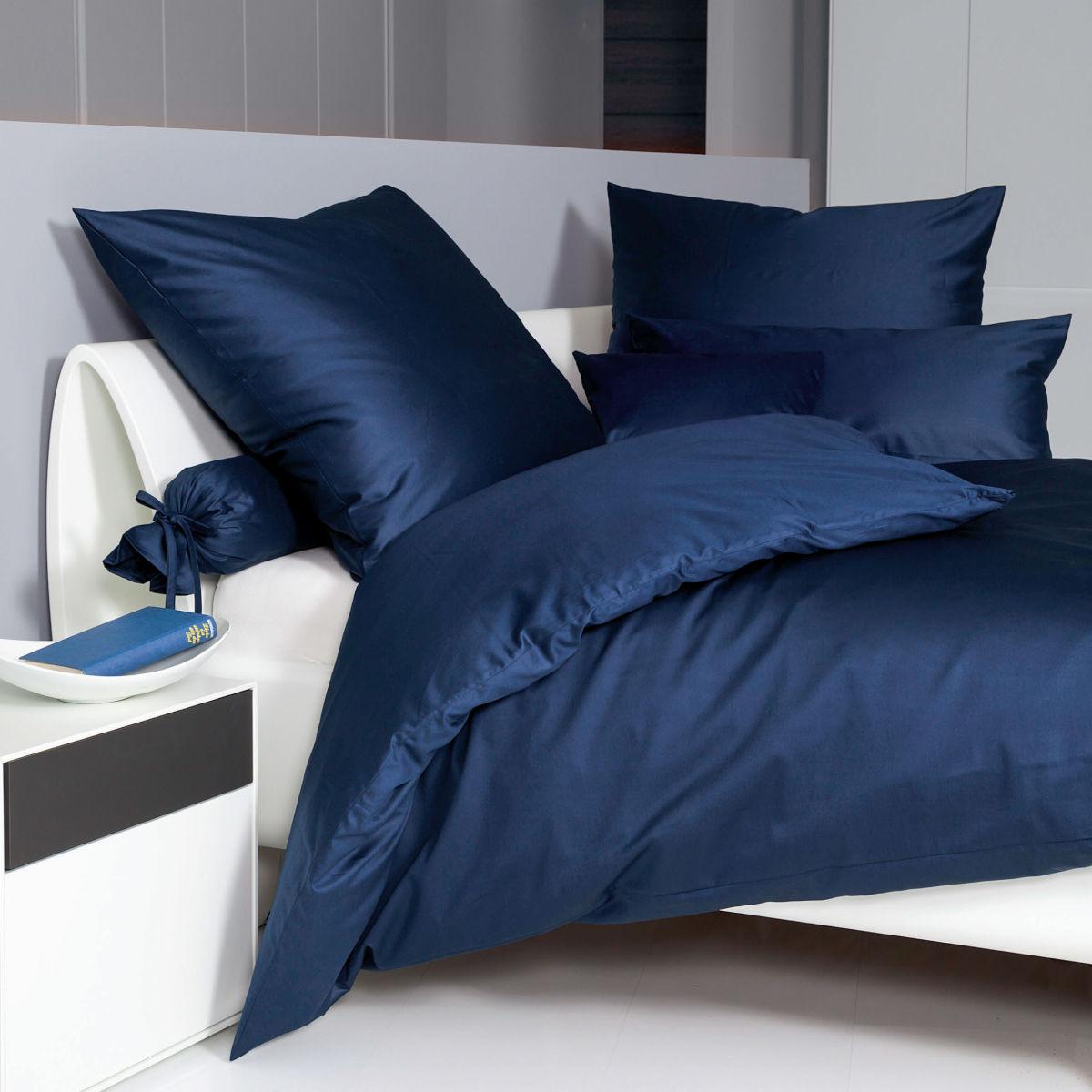 janine uni mako satin bettw sche programm colors design 31001 kissenbezug ebay. Black Bedroom Furniture Sets. Home Design Ideas