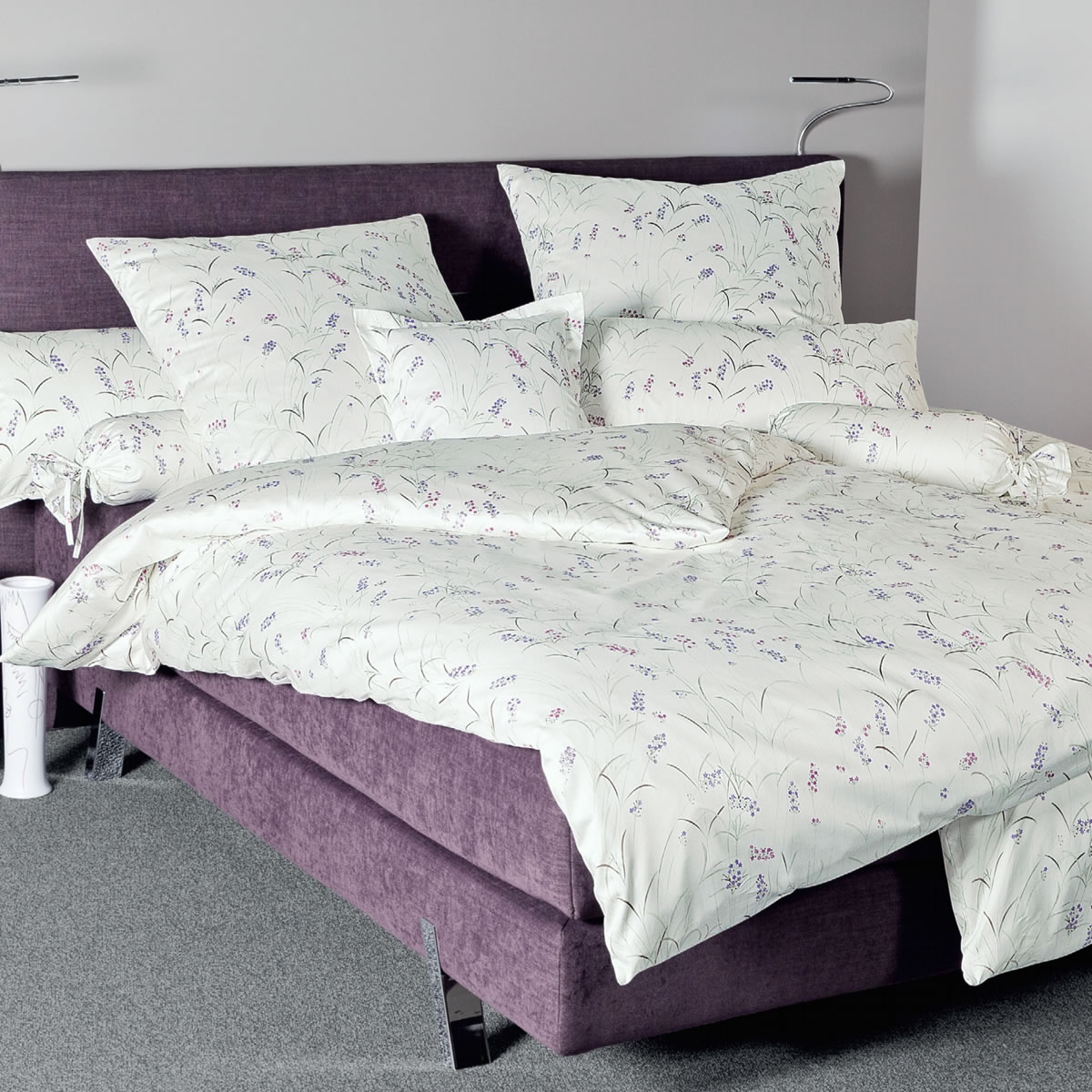 janine interlock fein jersey bettw sche carmen 53020 05 lavendel mauve. Black Bedroom Furniture Sets. Home Design Ideas