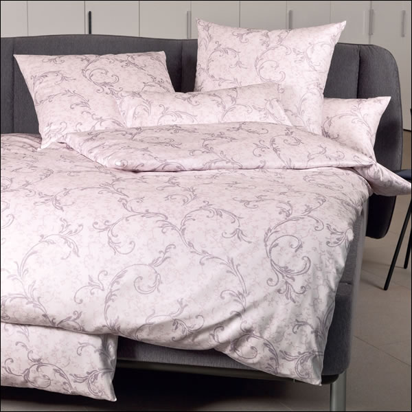 janine mako satin bettw sche oder kissenbezug messina 43049 05 beere rosa ranke ebay. Black Bedroom Furniture Sets. Home Design Ideas