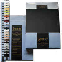 Janine Comfort Jersey Elastic Topper Spannbettlaken Spannbetttuch 5001