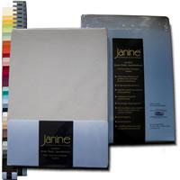 Janine Comfort Jersey Elastic Spannbettlaken von 90x190 bis 200x220 cm