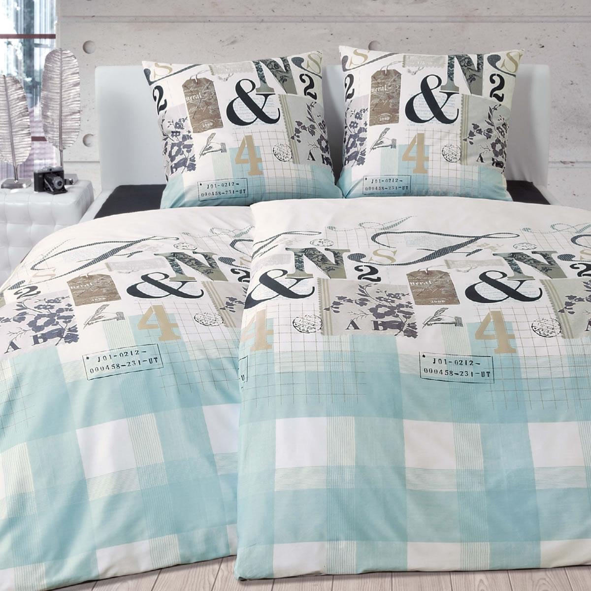 janine feinbiber bettw sche davos 65029 02 mineralblau platin braun. Black Bedroom Furniture Sets. Home Design Ideas