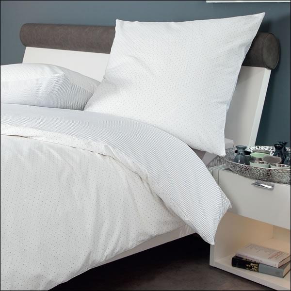 janine feinbiber wende bettw sche davos in 155x220 cm 6505 02 blau. Black Bedroom Furniture Sets. Home Design Ideas