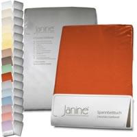 Janine Chinchilla Edelflanell Spannbettlaken alle Größen und Farben