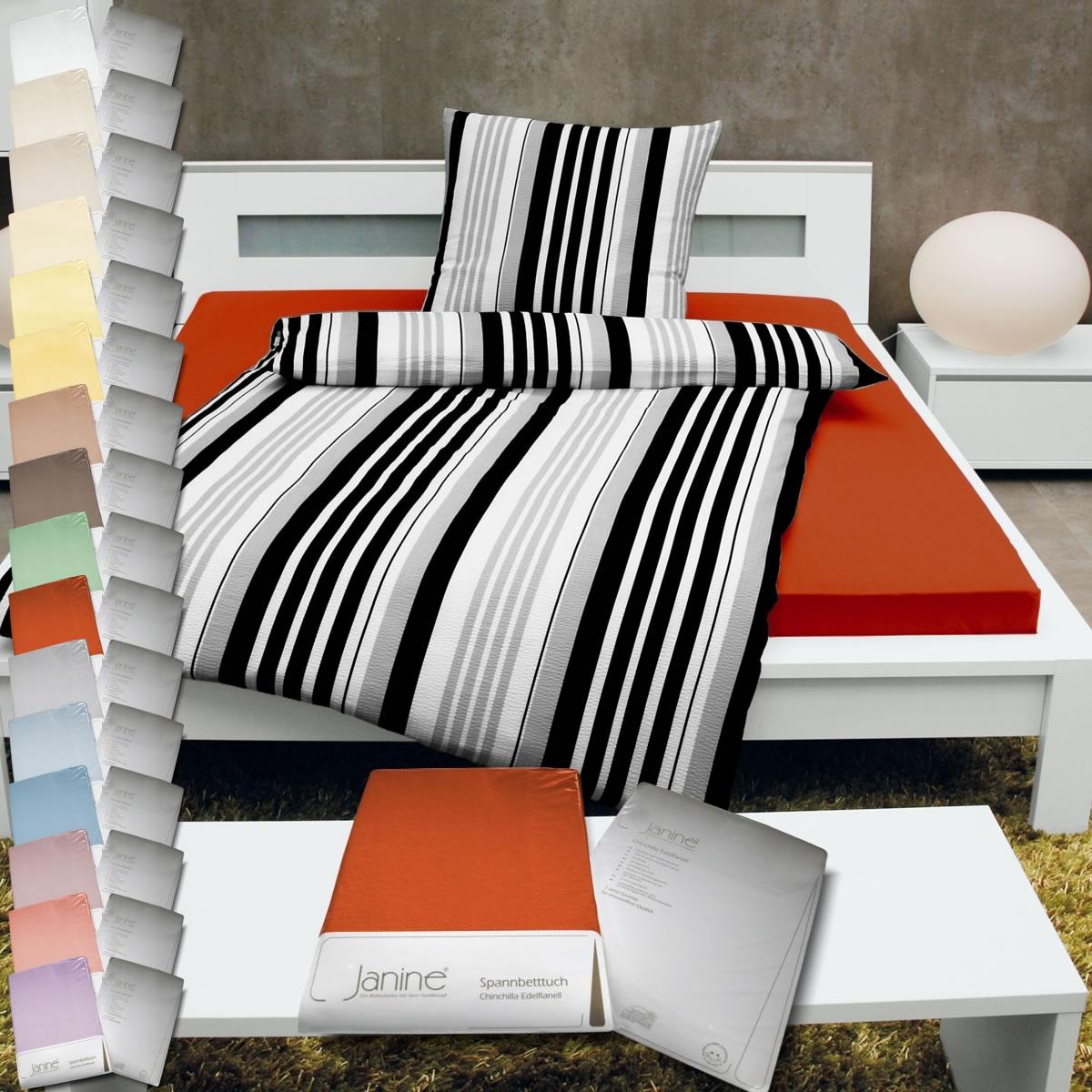 janine chinchilla edelflanell spannbettlaken alle gr en. Black Bedroom Furniture Sets. Home Design Ideas