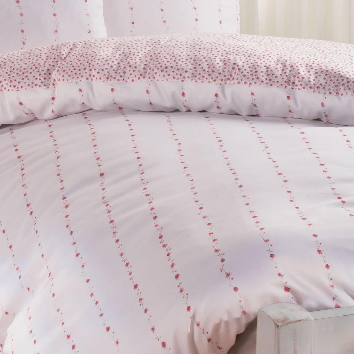 janine edel flanell bettw sche chinchilla romantico 7505 01 ros rosen. Black Bedroom Furniture Sets. Home Design Ideas
