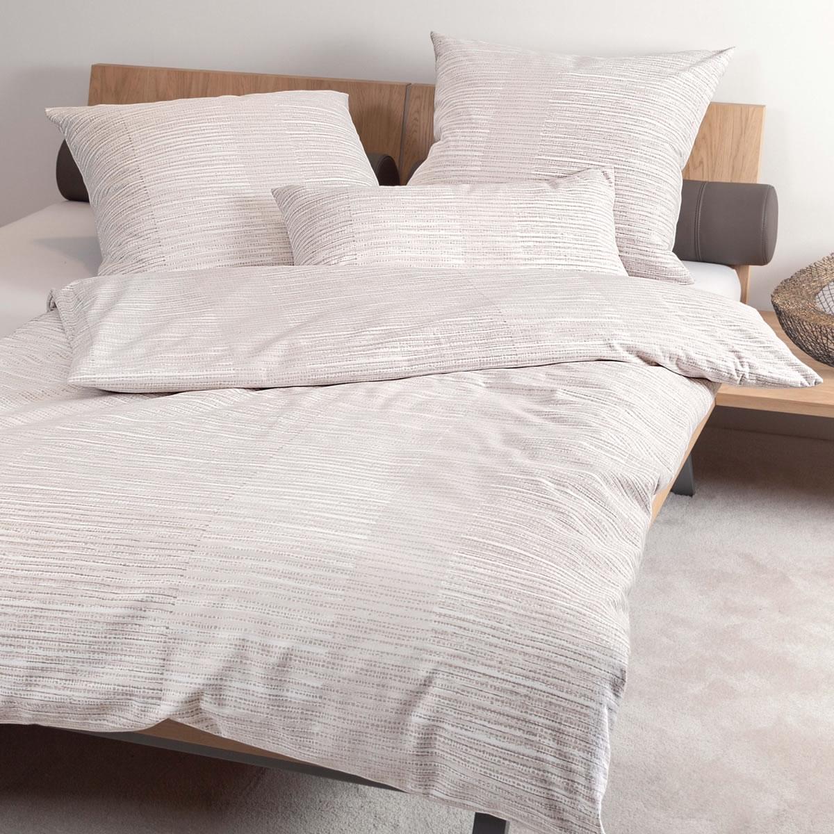 janine edel flanell bettw sche chinchilla s design 76010 07 taupe sand beige ebay. Black Bedroom Furniture Sets. Home Design Ideas