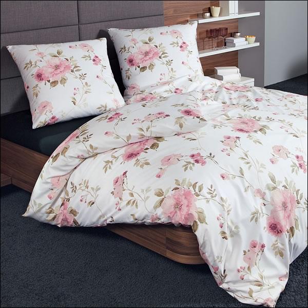 janine edel flanell kissenbezug in 80x80 cm chinchilla 7620 05 pfingstrose wei ebay. Black Bedroom Furniture Sets. Home Design Ideas