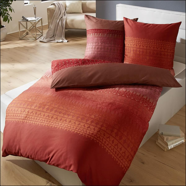 kaeppel fein biber bettw sche in 200x200 cm 50347 purpose terra weinrot braun ebay. Black Bedroom Furniture Sets. Home Design Ideas