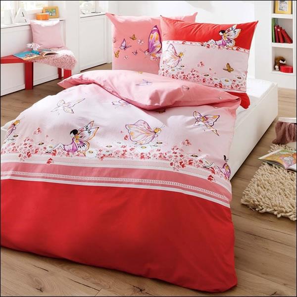 kaeppel biber kinderbettw sche 135x200 cm 6812 miss butterfly feen schmetterling ebay. Black Bedroom Furniture Sets. Home Design Ideas