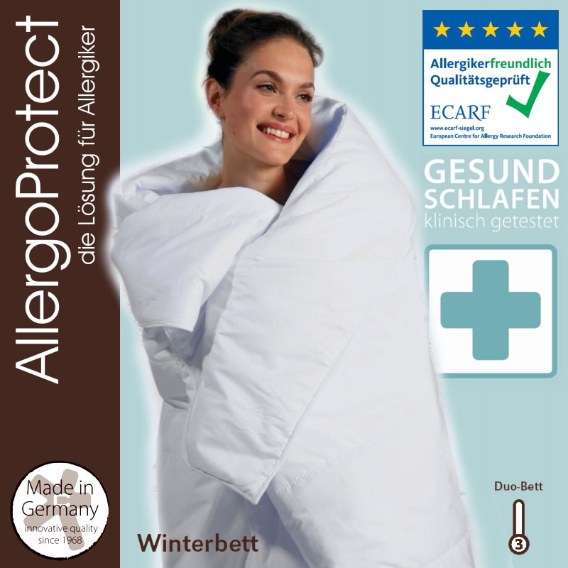 centa star allergo protect duo decke in 135x200 cm winterdecke. Black Bedroom Furniture Sets. Home Design Ideas