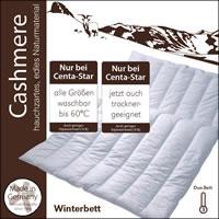 Centa Star Cashmere Winterdecke Kaschmir Duo-Bett 155x220 cm 1543.00