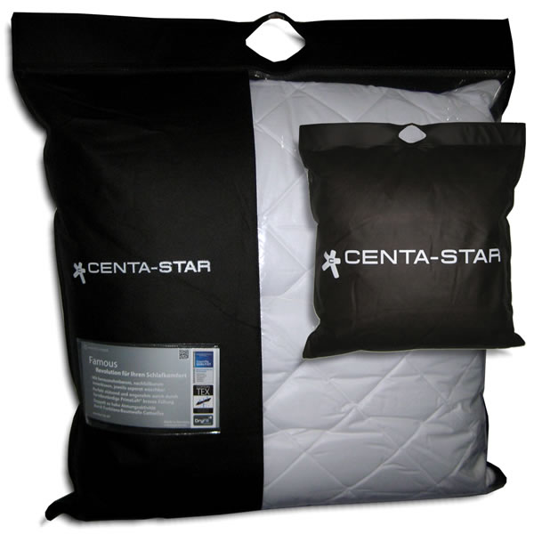 Centa Star 2721.00 Famous Kopfkissen, 80 x 80 cm: