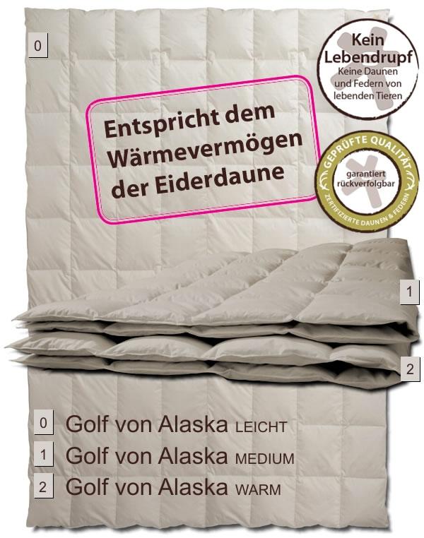 centa star golf von alaska warm winter daunendecke winterbett. Black Bedroom Furniture Sets. Home Design Ideas