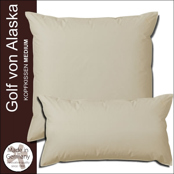 centa star extra golf von alaska medium kissen kopfkissen 70 federn 30 daunen ebay. Black Bedroom Furniture Sets. Home Design Ideas