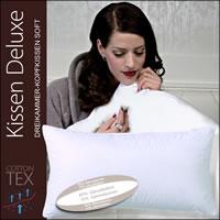 Centa Star Kissen Deluxe soft Dreikammer-Kopfkissen 40x80 cm 7492.01