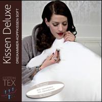 Centa Star Kissen Deluxe soft Dreikammer-Kopfkissen 80x80 cm 7492.02