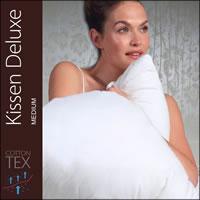 Centa Star Kissen Deluxe medium 80x80 cm 70% Federn 30% Daunen 7491.02