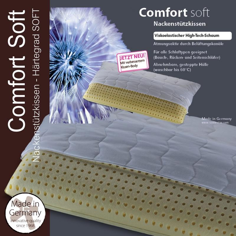 Centa Star Nackenstützkissen Comfort Soft In 40x80 Cm 241300