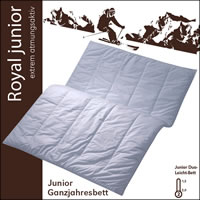 Centa Star Royal Junior Duo-Leicht Decke 100x135 cm 1. Wahl 3341.00