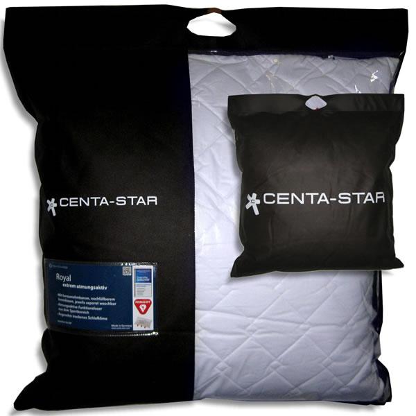 centa star royal kissen kopfkissen pillow faserkissen 2 wahl ebay. Black Bedroom Furniture Sets. Home Design Ideas