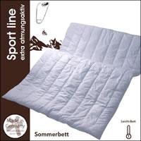 Centa Star Sport line Leicht-Bett 135x200 cm Sommerdecke 1725.10