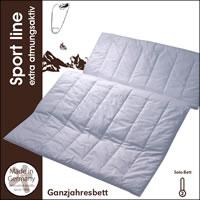 Centa Star Sport line Solo-Bett 135x200 cm  2. Wahl Decke 1730.80