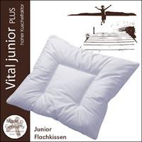 Centa Star Vital Plus Junior Flachkissen 35x40 cm Kopf-Kissen 1. Wahl