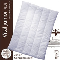 Centa Star Vital Plus Junior Solo Decke 100x135 cm 1. Wahl 3826.00