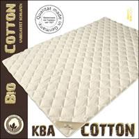 Baumwoll Cotton Sommerdecke mit kbA Baumwolle Bezug Sommerbett