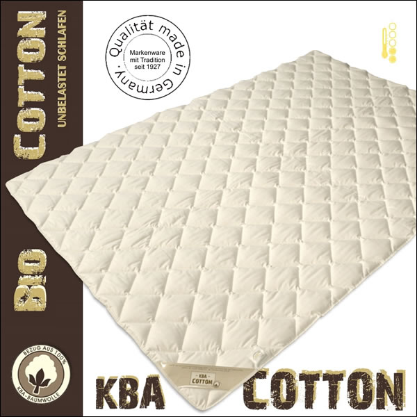 100 baumwoll cotton sommerdecke mit kba baumwoll bezug sommerbett bio bettdecke ebay. Black Bedroom Furniture Sets. Home Design Ideas
