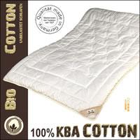 Cotton Duo-Leicht-Steppbett Ganzjahresdecke aus 100% kbA Baumwolle