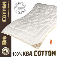 Cotton Duo-warm-Steppbett Winterdecke aus 100% kbA Baumwolle
